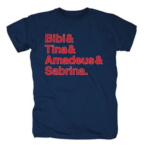 B&T red von Bibi & Tina - T-Shirt jetzt im Bibi & Tina Shop